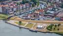 Het pandsgewijs bouwen, zoals aan de Oostkade, keert terug in het plan voor Spuifront aan het water.