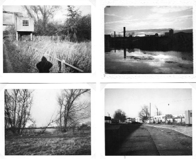 Foto's uit Langs de rivier van Esther Kinsky. Beeld