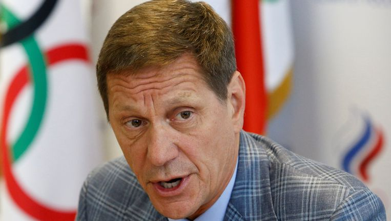Aleksander Zjoekov, voorzitter van het Russisch olympisch comité. Beeld REUTERS