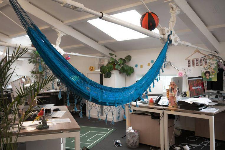 De hangmat van het bureau Beeld Airbnb