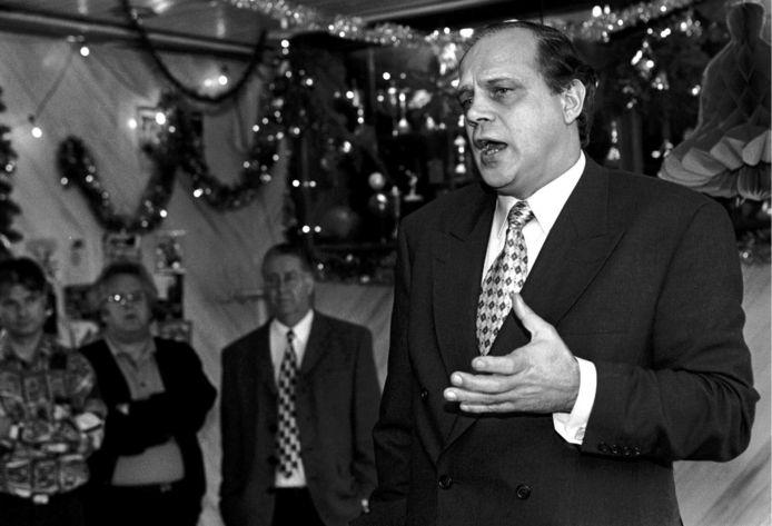 Martin de Jager was vanaf oktober 1992 meer dan twaalf jaar voorzitter van Excelsior.