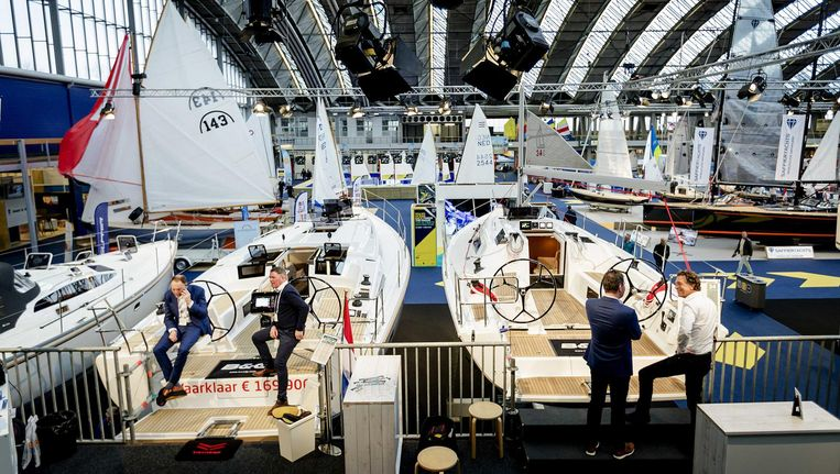 Volgens Hiswa lijkt de markt van botenverkoop weer aan te trekken Beeld anp