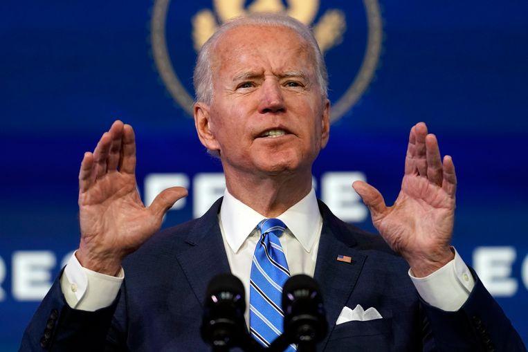 Aankomend president Joe Biden. Beeld AP
