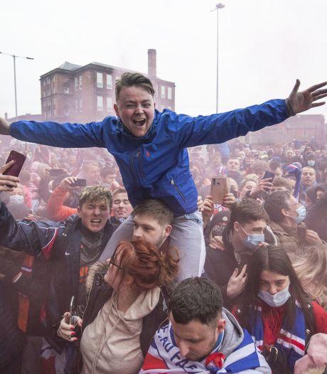 Les Rangers proches d'un premier titre depuis 2011, rassemblement polémique de supporters