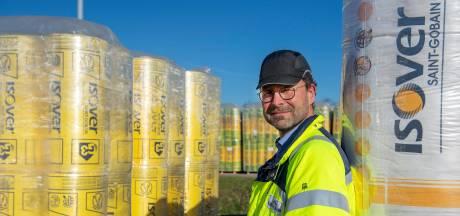 Glaswol van Isover: dat wordt gewoon in Etten-Leur gemaakt