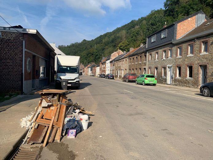 De gemeente ging maandag op prospectie in Nessonvaux en Angleur