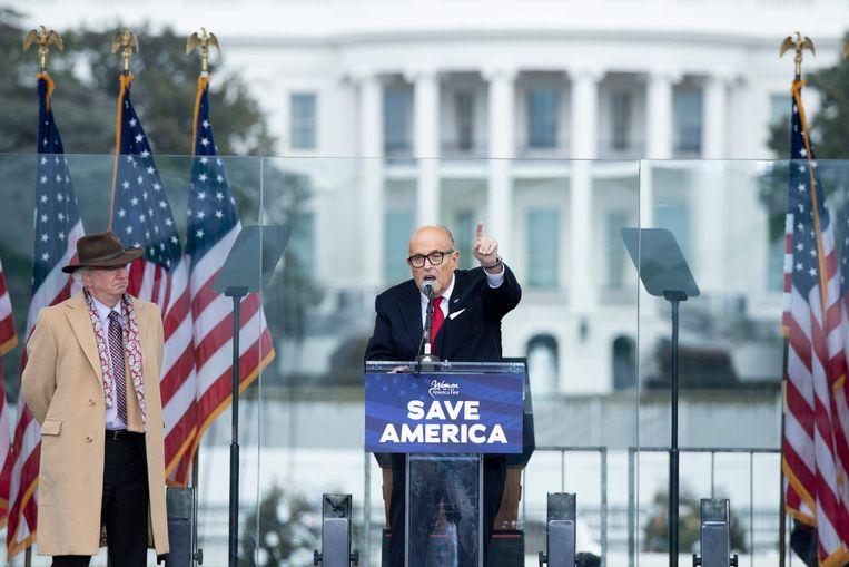 Rudy Giuliani. Beeld AFP