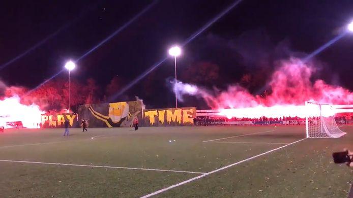 'Playtime'. Vuurwerkshow bij Go Ahead Kampen - DOS Kampen.