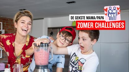 Thuis zelf ijsjes maken: Evi Hanssen en zonen tonen hoe je dat doet