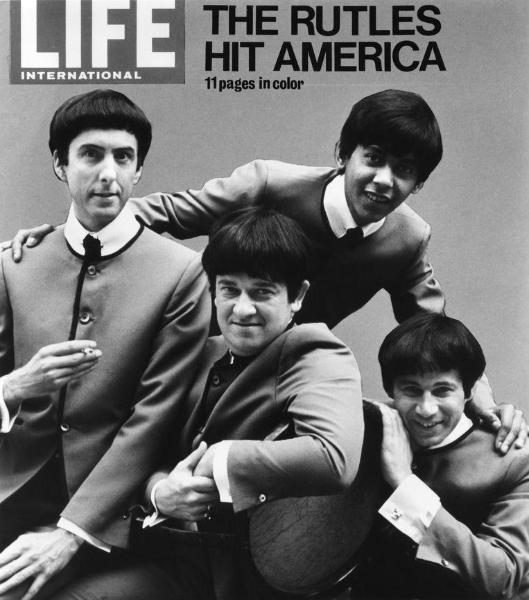 The Rutles op de cover van Life Magazine in 1978, met links Eric Idle.  Beeld Getty Images