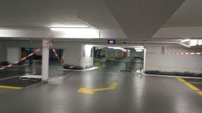 Weer opfriswerken voor parking onder 't Zand