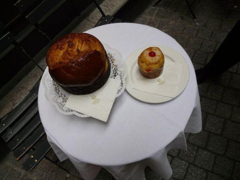 Het Grand Café in het centrum van Lugano heeft een heerlijk assortiment taarten en chocoladecreaties. Beeld UNKNOWN