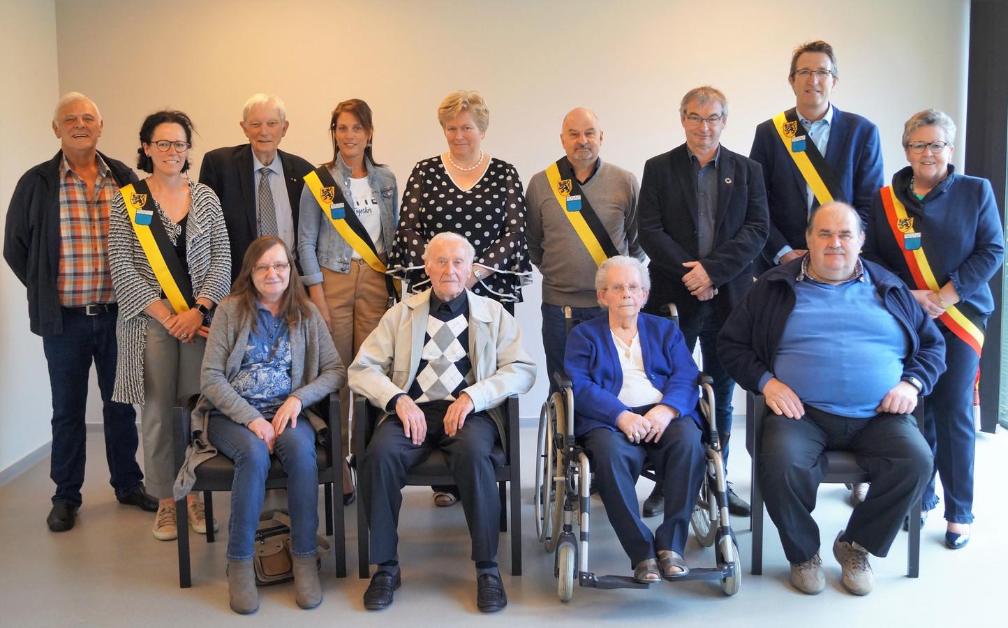Roger Geerlandt en Alice Packet vierden hun 65ste huwelijksverjaardag