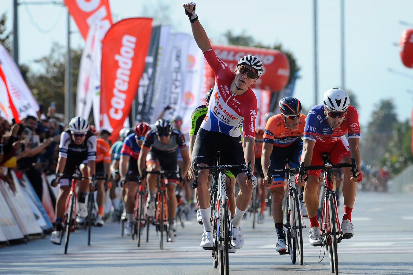 Van der Poel wint in de Ronde van Antalya