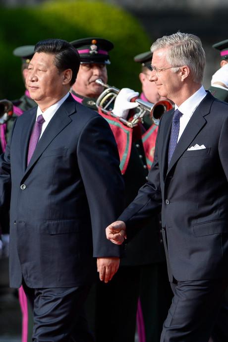 Le roi Philippe s'est entretenu avec le président chinois Xi Jinping
