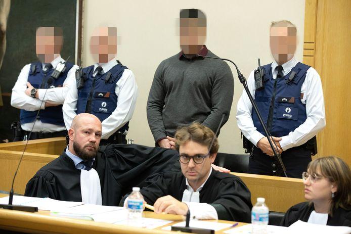 Brian V.G. staat voor het hof van assisen samen met medebeschuldigde Shane R. terecht voor de moord op Hilmi Gedik.