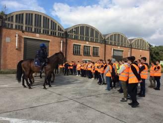 """GO! Atheneum Geraardsbergen leidt soldaten en politiemensen van de toekomst op: """"Sectoren met grote werkzekerheid"""""""