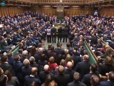 Parlement dwarsboomt brexitplan May