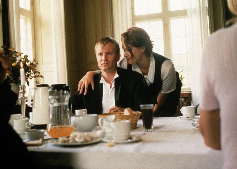 Thomas Bo Larsen en Trine Dyrholm in Festen. Beeld HH