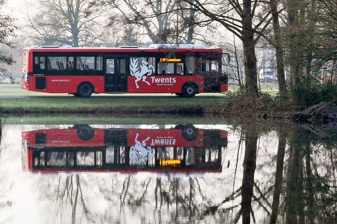 De bussen van Twents rijden sinds vorige week volgens de zaterdagdienstregeling.