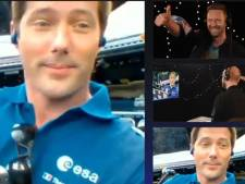 Thomas Pesquet diffuse le nouveau titre de Coldplay dans l'espace