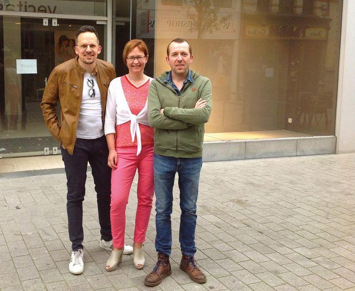 Ronald Rotmans , Anne Dockx en Gregory Meul.