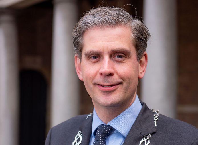 Burgemeester Wouter Kolff van Dordrecht.