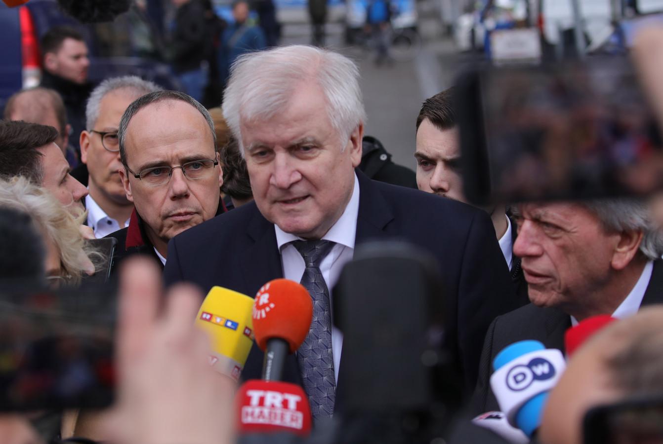 De Duitse minister van Binnenlandse Zaken Horst Seehofer (CSU).