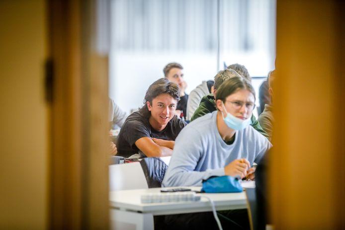 Het academiejaar voor de studenten van de hogescholen is terug gestart