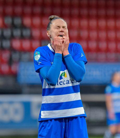 PEC Zwolle Vrouwen blijft maar grossieren in gelijkspelletjes