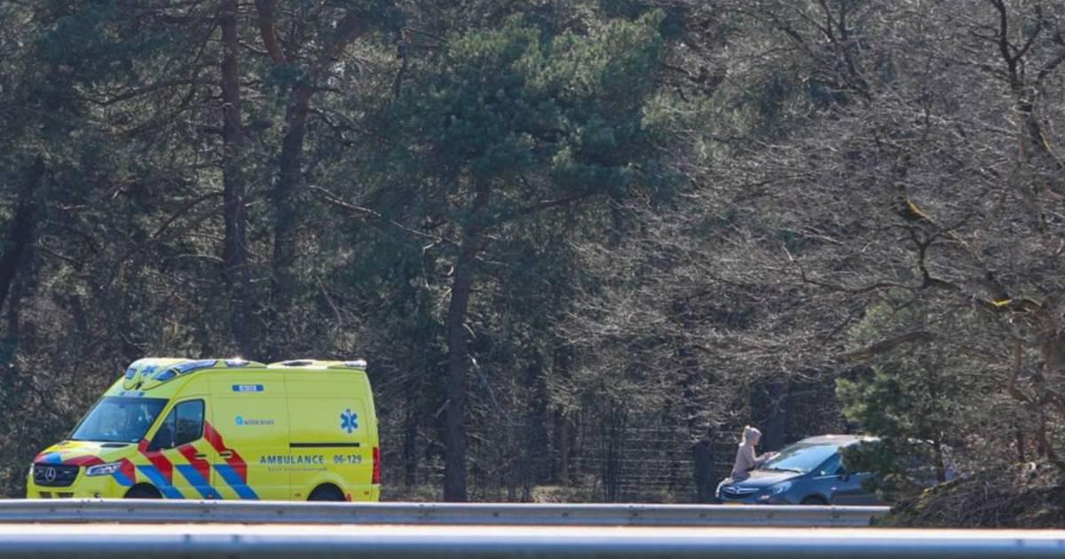 Ongeval zorgt voor file op A1 bij Uddel.