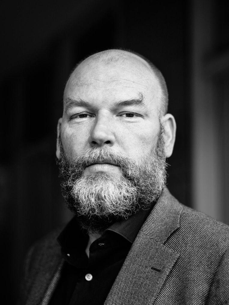 Rutger Groot Wassink, fractievoorzitter GroenLinks Amsterdam. Beeld Marc Driessen