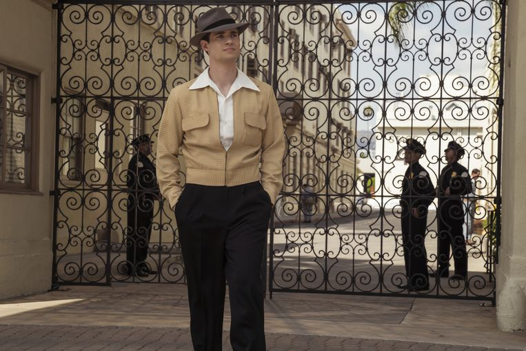 David Corenswet in 'Hollywood'. Beeld