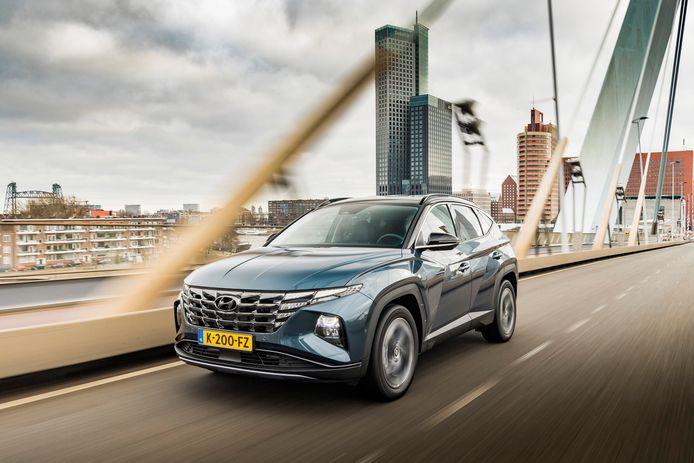 De nieuwe Hyundai Tucson in hybride uitvoering