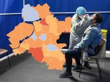 KAART | Meeste positieve tests in Apeldoorn in vijf weken, één gemeente zonder nieuwe besmettingen