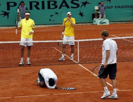 Roland Garros Handdoek.Roland Garros In Beeld