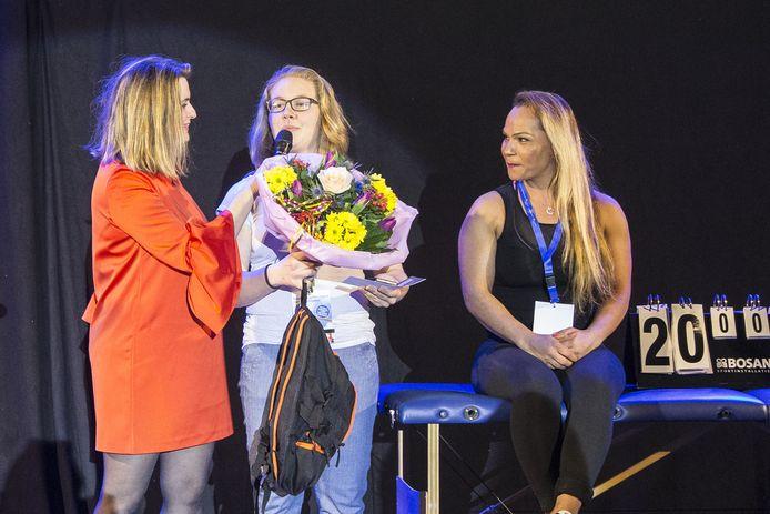 Anique Hilgerink werd vorig jaar sportvrouw van het jaar.