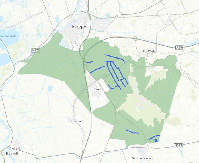 Waterschap Drents Overijsselse Delta streeft naar duurzaam waterbeheer in de gebieden Spoortippe en Punthorst. In het zuidelijkste puntje van de gemeente wil het waterschap de aan te leggen waterberging Beentjesgraven combineren met een zonnepark.