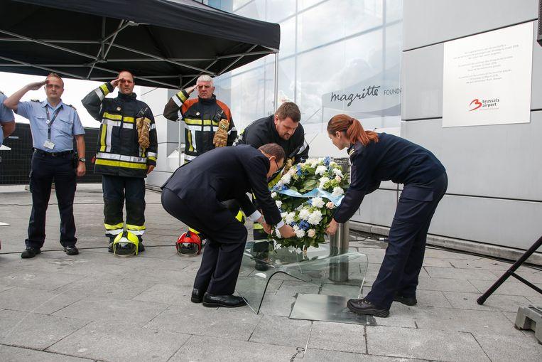 De slachtoffers van de aanslagen in Zaventem zijn nu ook officieel erkend. Beeld BELGA