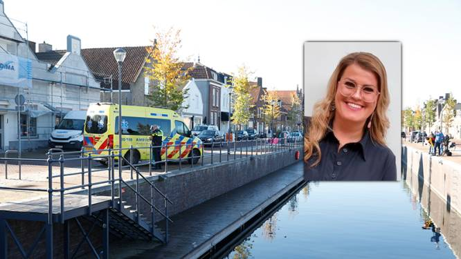Daisy (33) redt met snoekduik leven van man die met scootmobiel in haven rijdt: 'Wat een adrenaline had ik op dat moment'