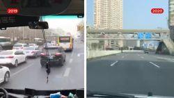 Vlaming toont hoe leeg de straten zijn in spookstad Wuhan