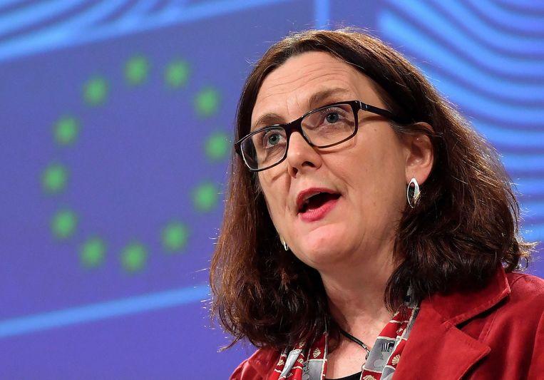 Eurocommissaris voor Handel Cecilia Malmström.