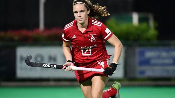"""Red Panther Tiphaine Duquesne is nieuw bij Antwerp: """"Speciaal om tegen zus te hockeyen"""""""