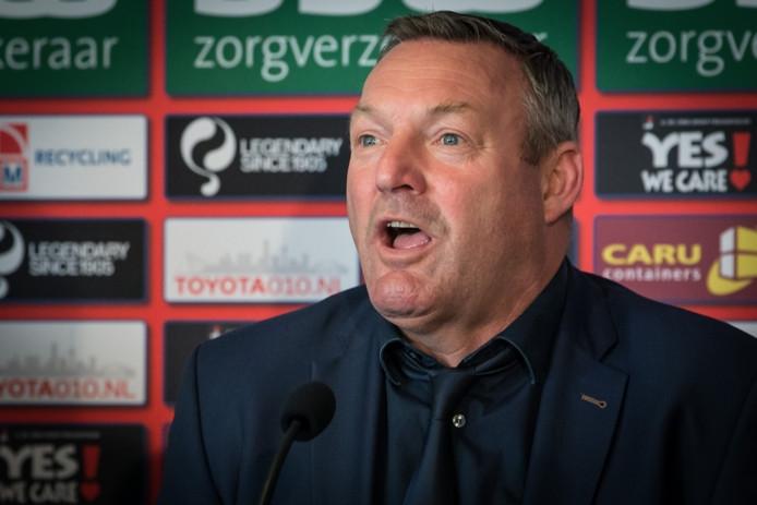 Ron Jans, trainer van PEC Zwolle.