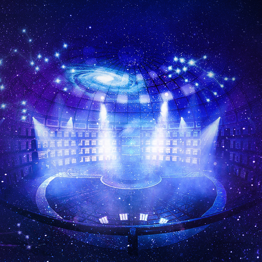 Sfeerimpressie van nieuwe musical Zodiac, die vanaf april 2021 in de voormalige koepelgevangenis in Breda te zien zal zijn.