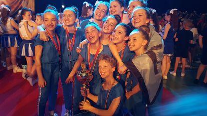 Danshuis Boutersem schittert op BK Cheerleading