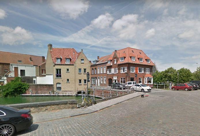 De feiten speelden zich af in de buurt van het Sasplein in Brugge.