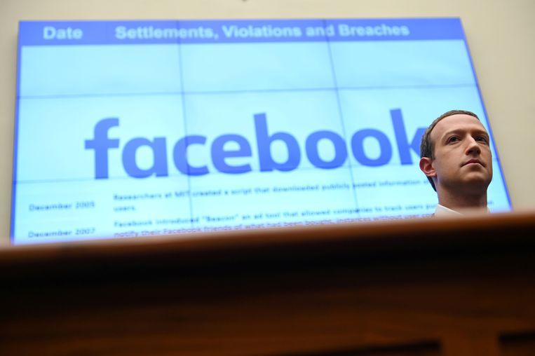 Facebook-topman Mark Zuckerberg.