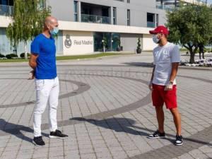 """Zinedine Zidane """"agréablement surpris"""" par la forme physique d'Eden Hazard"""