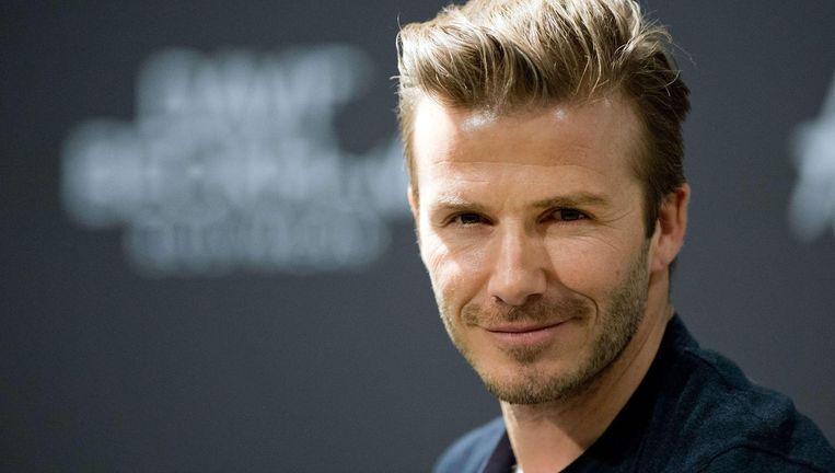 Ex-voetballer David Beckham: 'Ik zie mijzelf eigenlijk niet als een sexy man.' Beeld afp